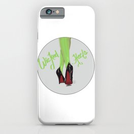 Wicked heels iPhone Case