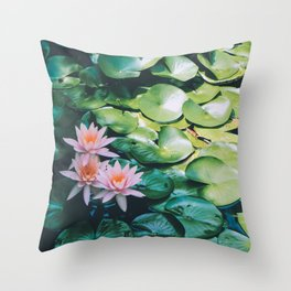 Beauty in the Shadow Throw Pillow