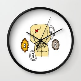 LOVE to unclock Wall Clock