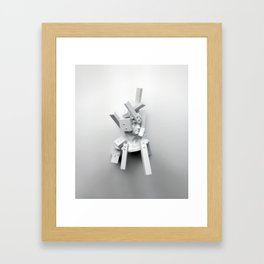 From The Perspective of Accumulation Framed Art Print