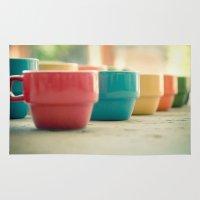 Rainbow Mugs Rug