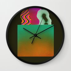 Bagged Groceries Wall Clock