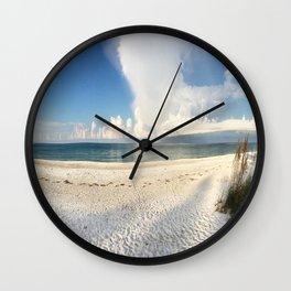 Beachy. Wall Clock