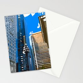 Downtown Philladelphia. JFK Plaza Stationery Cards