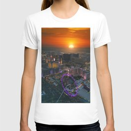 Sunset in Vegas T-shirt