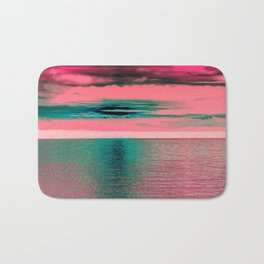 Sunset at Sea Bath Mat
