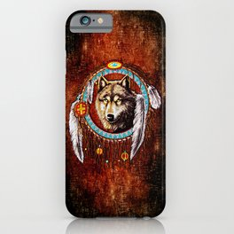 Wolf Dreamcatchers iPhone Case
