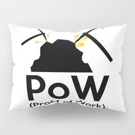 PoW - Proof of Work Pillow Sham