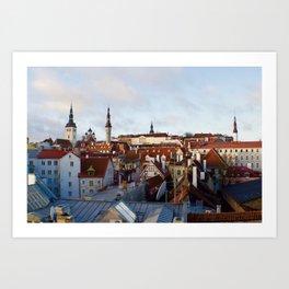 Tallinn, Estonia Art Print