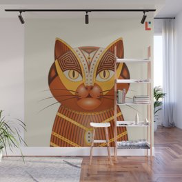 The Geocat Wall Mural
