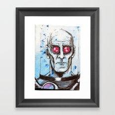 Dr Victor Fries Framed Art Print