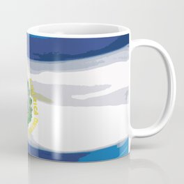 El Salvador Fancy Flag Coffee Mug