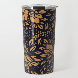 Abstract - kind of damasc french style wrapping paper - Simple Travel Mug