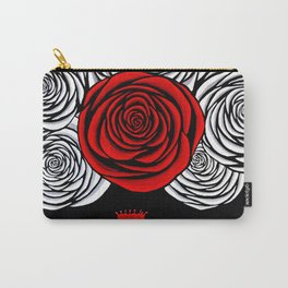 Heather's Rose Carry-All Pouch