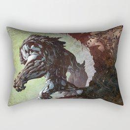 Watcher on the Wall Rectangular Pillow