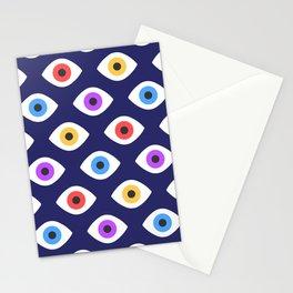 Lucky Eyes Vintage Pattern Stationery Cards