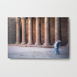 Egyptian Sweeper Metal Print