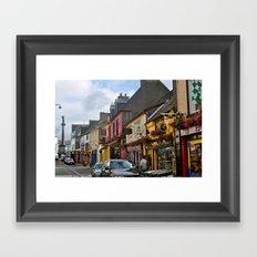 A Little Town in Ireland Framed Art Print