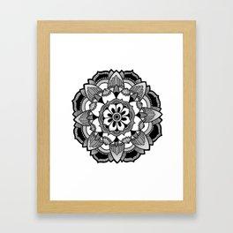Mandala V4 Framed Art Print