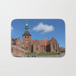 Vor Frue Kirke, Svendborg, Denmark Bath Mat