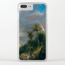 Rainy Season in the Tropics - Frederic Edwin Church Clear iPhone Case
