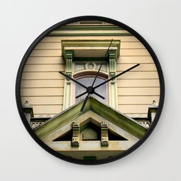 Laid Back Wall Clock