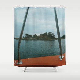 Boat trip in the Archipelago Shower Curtain