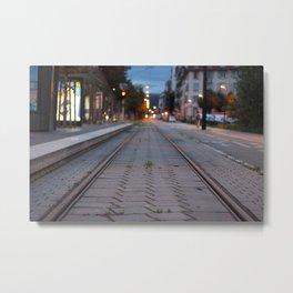 Strasbourg - Tramway Metal Print