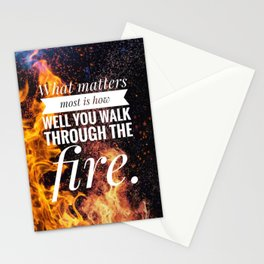 What Matters Most Stationery Cards