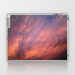 When a sunset meets the moon Laptop & iPad Skin