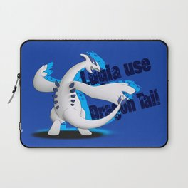 Lugia use Dragon Tail - blue vrs. Laptop Sleeve