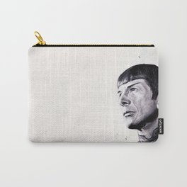 Goodbye Mr. Spock - Leonard Nimoy Carry-All Pouch