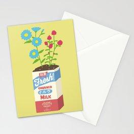 Milk Flowers Stationery Cards