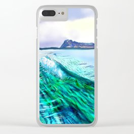 Riptide Clear iPhone Case