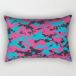 Modern Camouflage Pattern illustration Rectangular Pillow