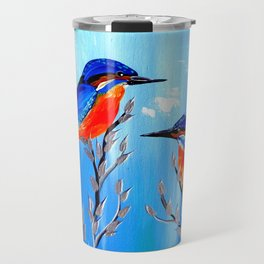 Kingfishers Travel Mug