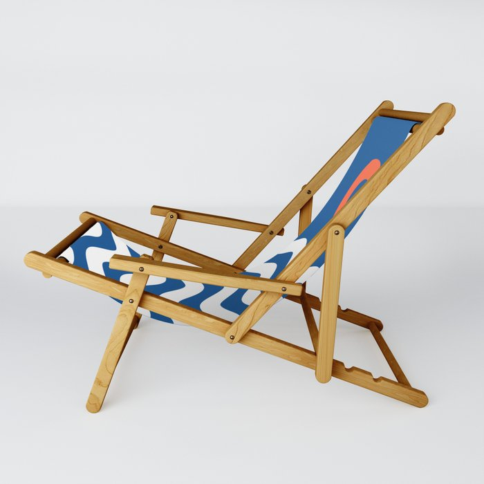 Nautical 03 Seascape Sling Chair