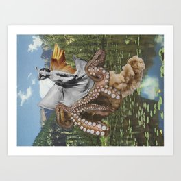 Over the Pond Art Print