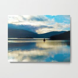 View over the Loch Metal Print