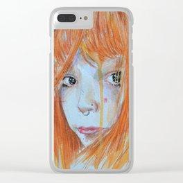 Redhead Clear iPhone Case