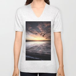 Water and Heaven Unisex V-Neck