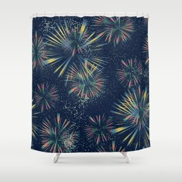 Fireworks! Shower Curtain