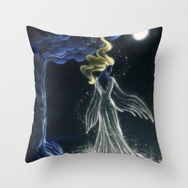 The Swan Princess Throw Pillow