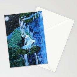Secret midnight falls Stationery Cards