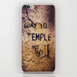 Way to Temple, 2015 iPhone Skin