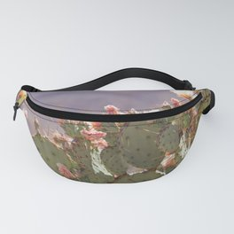 Prickly Pear Blooms I Fanny Pack
