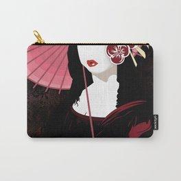 Mona Geisha Lisa Carry-All Pouch