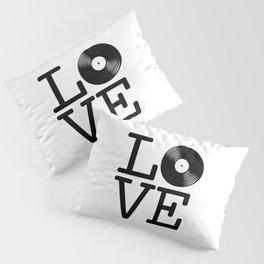 DISC LOVE Pillow Sham