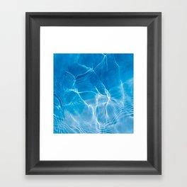 PISCINE Framed Art Print