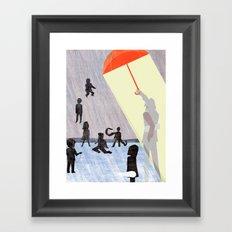 Umbrella Academics Framed Art Print